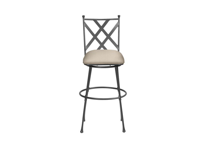 Biscayne Swivel Tall Barstool ,  , large_gray