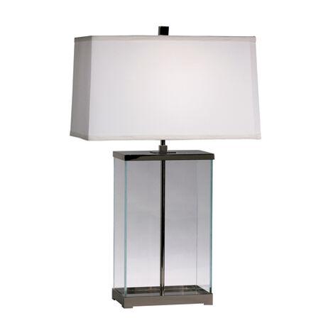 Rectangular Glass Table Lamp ,  , large