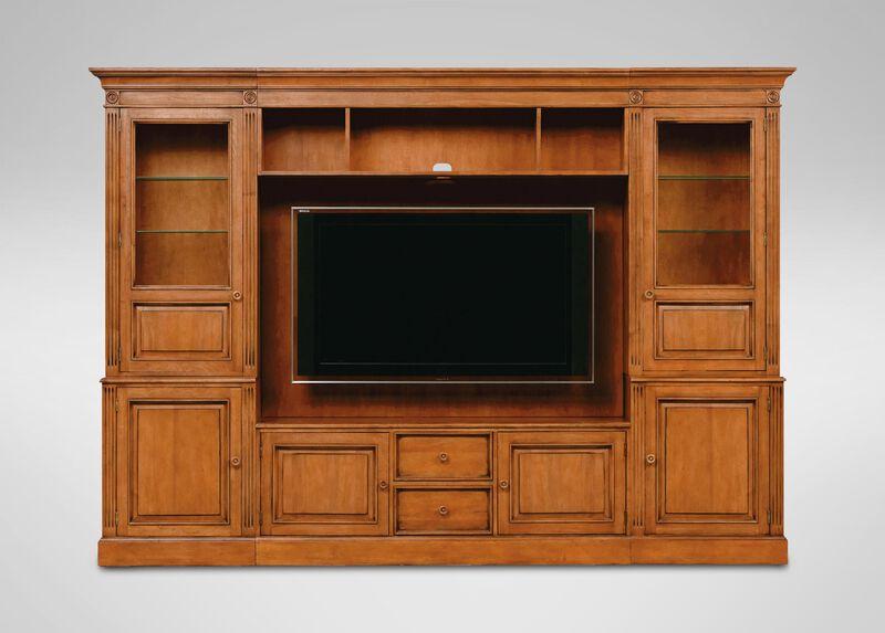 Wagner Glass-Door Media Center ,  , large_gray