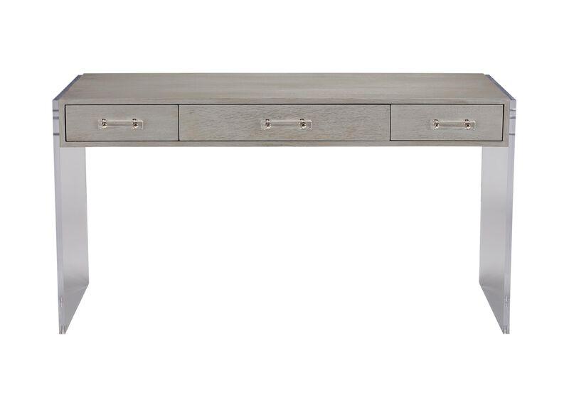 Archer Modern Desk | Acrylic and Wood Desk | Ethan Allen