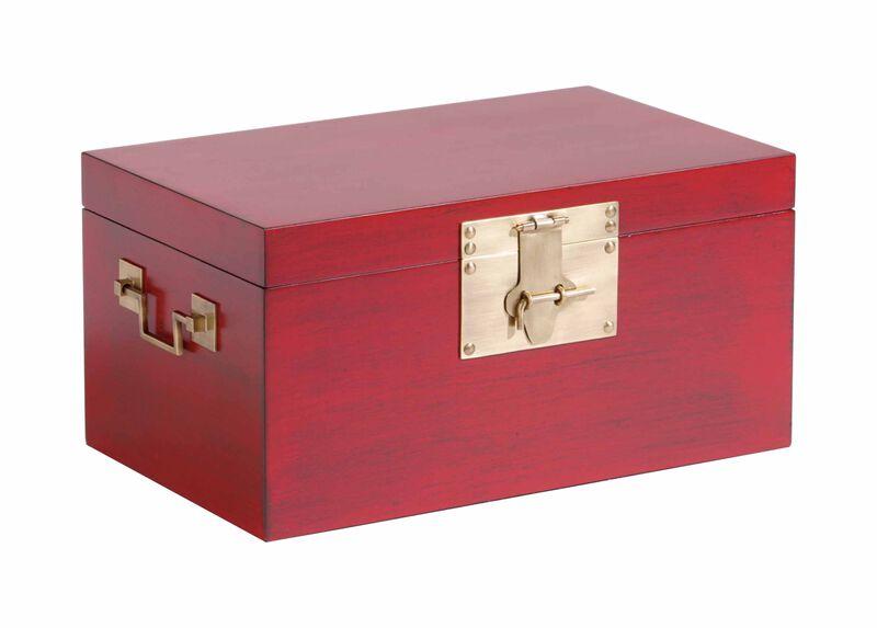 Small Red Canton Box
