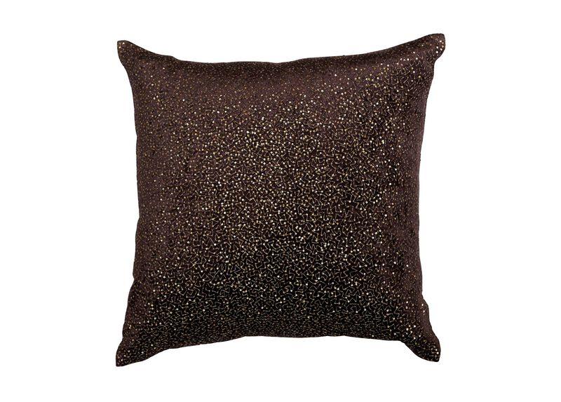 Sequined Velvet Pillow
