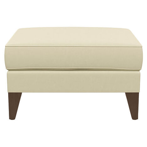 Emerson Leather Ottoman ,  , large