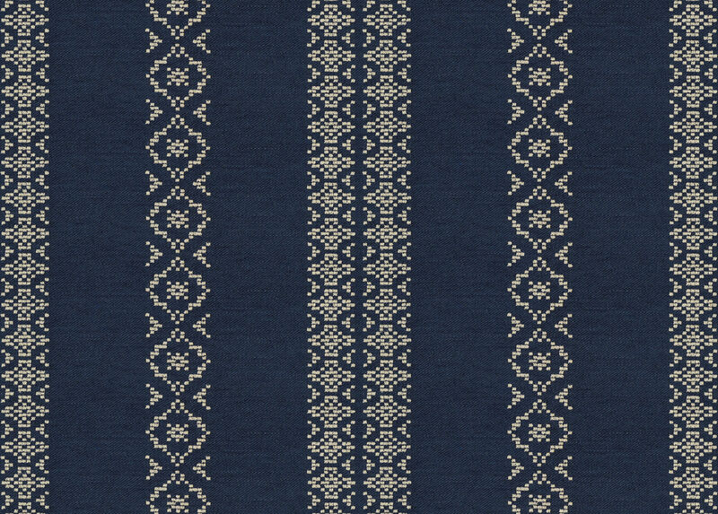 Tamara Indigo Fabric by the Yard