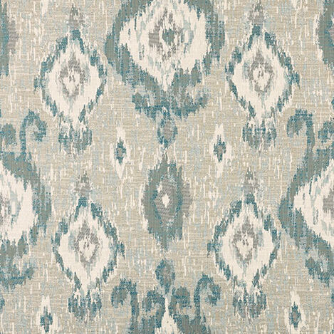 Anya Teal Fabric By the Yard Product Tile Image 40829