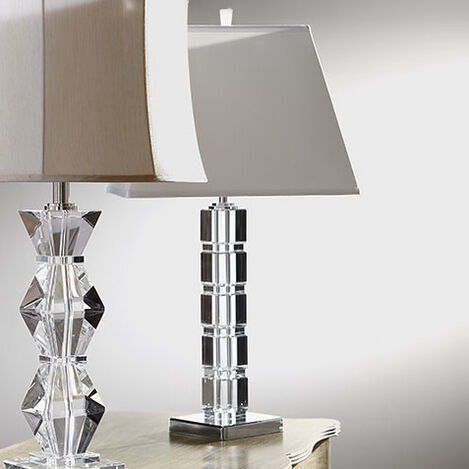 Crystal Blocks Table Lamp Product Tile Hover Image 096784