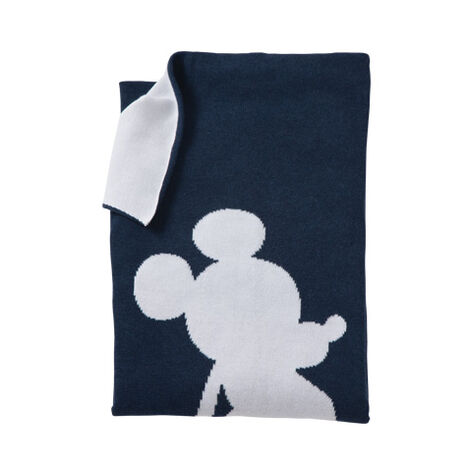 Mr. Mouse Stroller Blanket, Midnight ,  , large