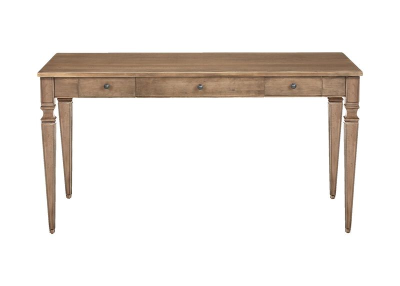 Tapered Leg Writing Desk ,  , large_gray