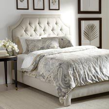 Alison Queen Bed, Quick Ship. CLEARANCE | BEDROOM