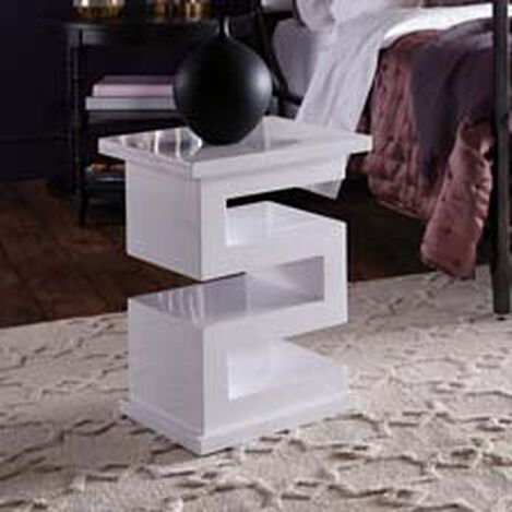 Zee Lacquered Accent Table ,  , hover_image