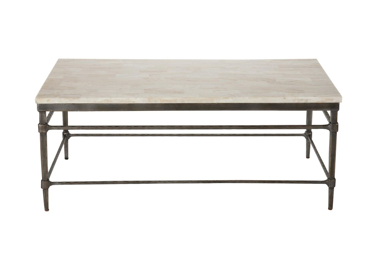 Vida Stone Top Coffee Table Selected 1