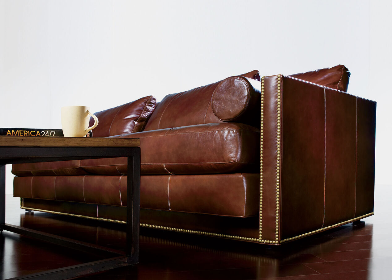 Ethan Allen Leather Sofa Ealing Ethan Allen Leather Sofa