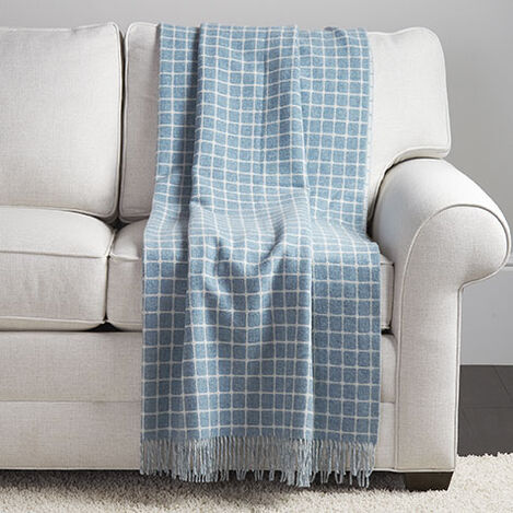 Grid Wool Throw Product Tile Image 031779MST