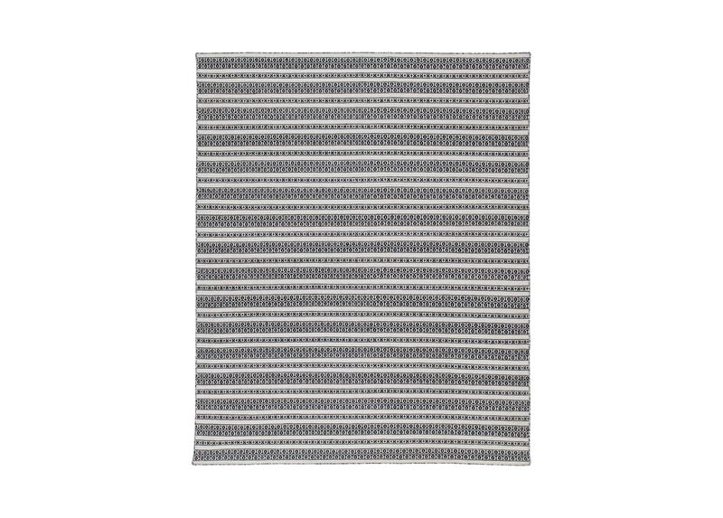 Woven Symmetry Rug, Cream/Black ,  , large_gray