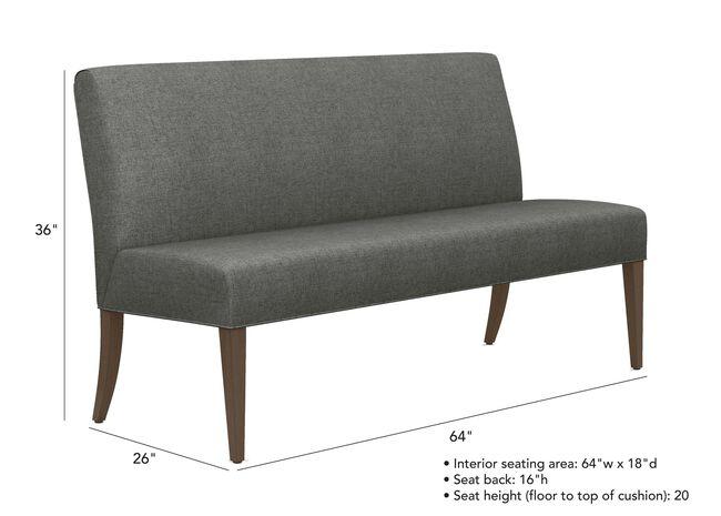Incredible Clinton Bench Ottomans Benches Ethan Allen Beatyapartments Chair Design Images Beatyapartmentscom