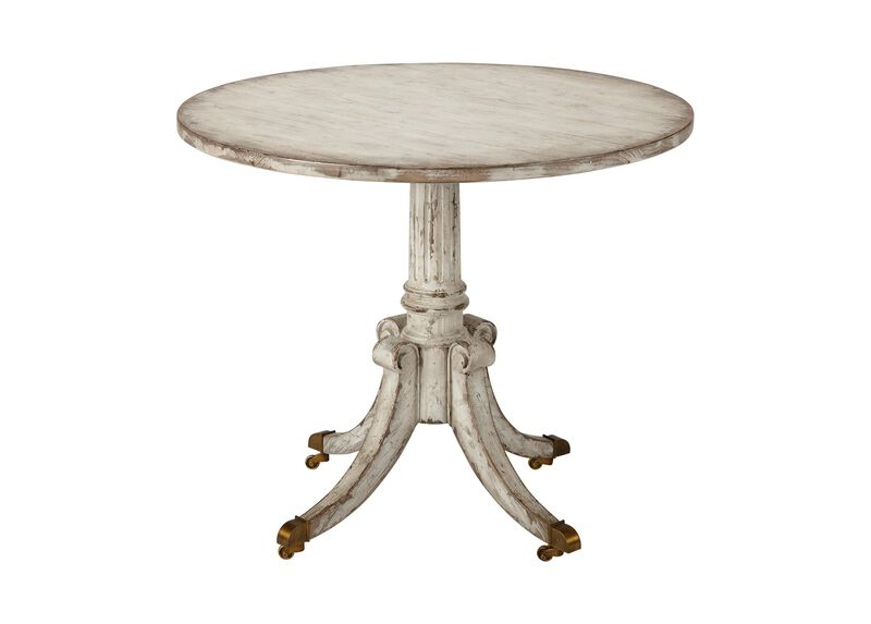 Vienna Round Pedestal Table, Brie