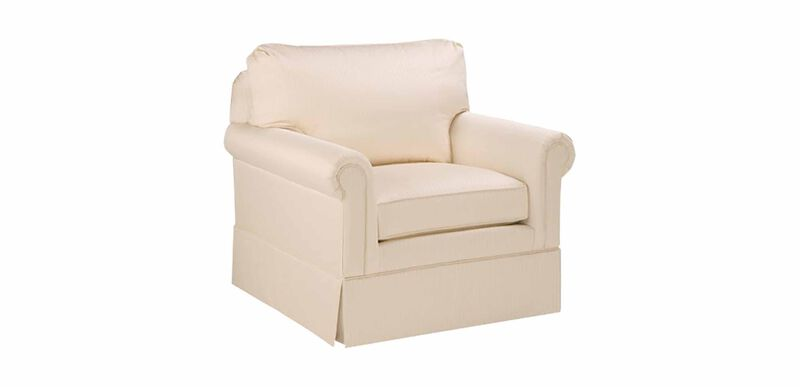 Paramount Panel-Arm Swivel Chair