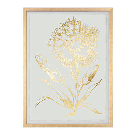 Gold Foil Floral II ,  , large