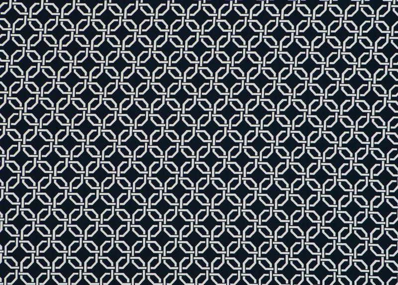 Lyle Indigo Fabric by the Yard