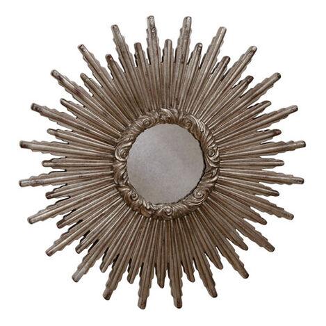 "24"" Silver Starburst Mirror Product Tile Image 074078B"