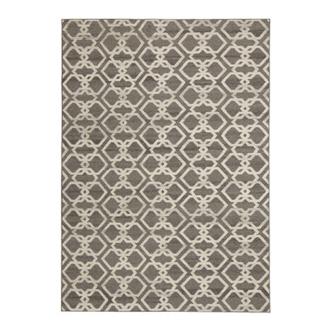 Interlock Rug, Gray/Ivory Product Tile Image 041215T