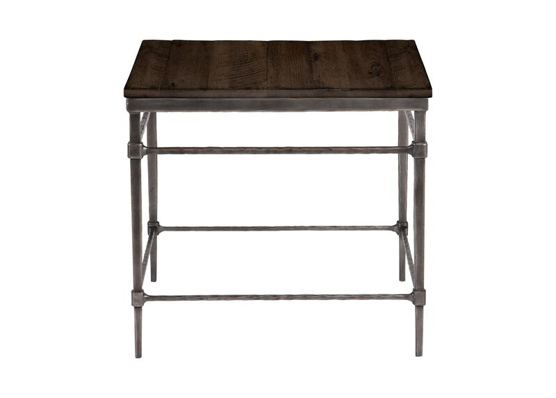 Vida Wood-Top End Table ,  , large_gray