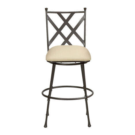 Biscayne Swivel Medium Barstool ,  , large