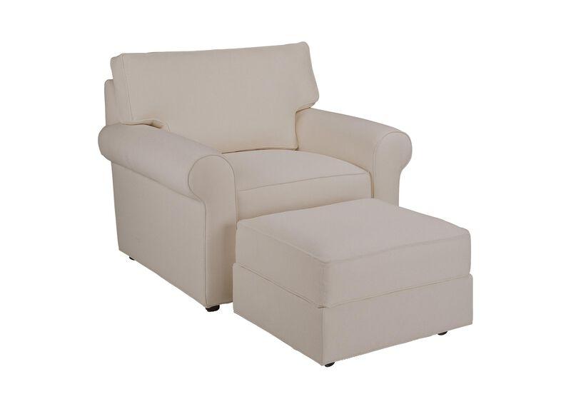 Retreat Roll-Arm Chair