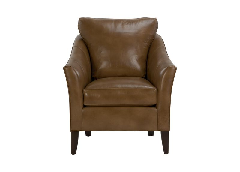 Gibson Leather Chair ,  , large_gray
