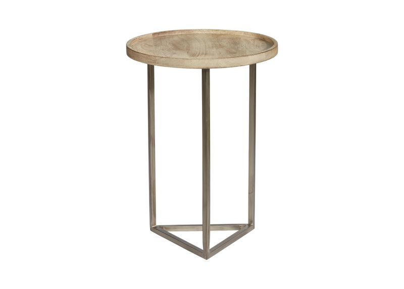 Bolton Round Wood Accent Table