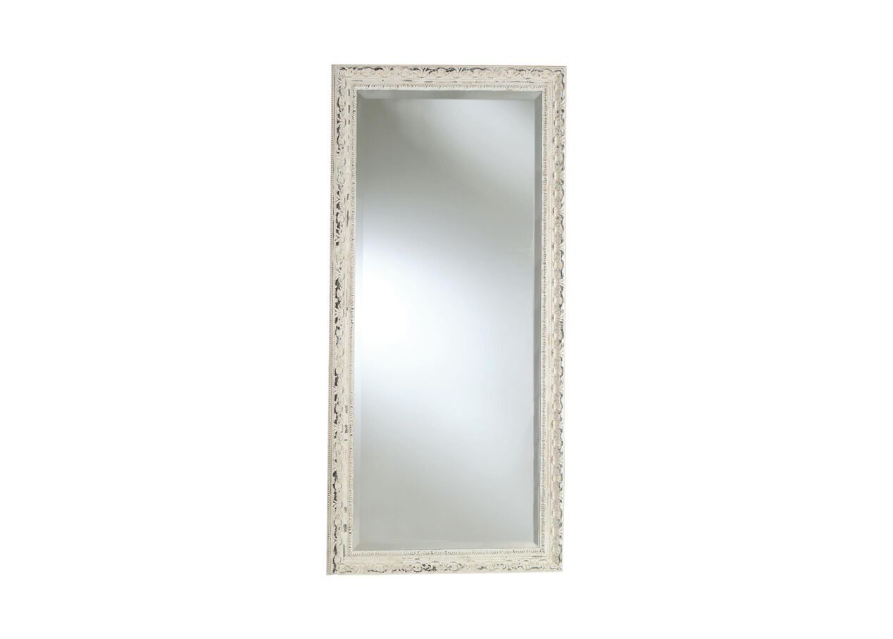 Decorative carved floor mirror mirrors ethan allen for Large decorative floor mirrors