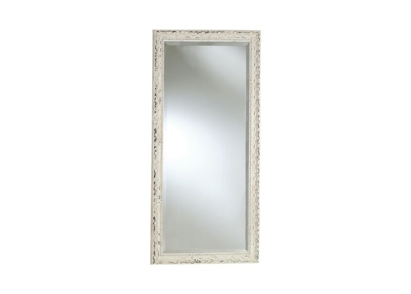 Decorative Carved Floor Mirror ,  , large_gray