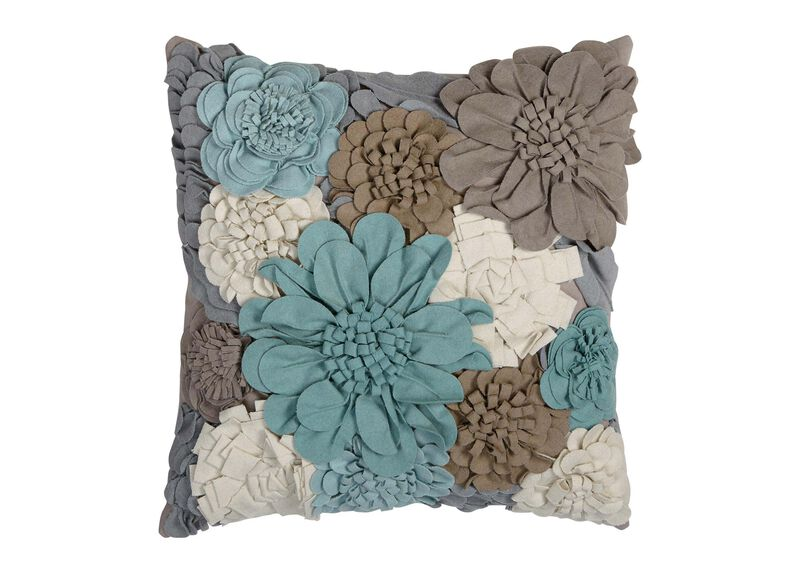 Wildflower Pillow, Mineral