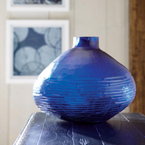 Large Brayton Indigo Vase ,  , hover_image
