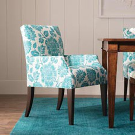 Clinton Armchair, Amara Turquoise ,  , hover_image