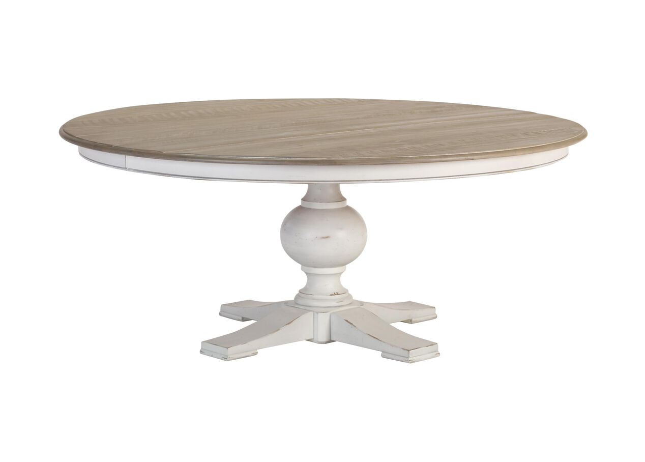 Cooper Rustic Round Dining Table Dining Tables Ethan Allen