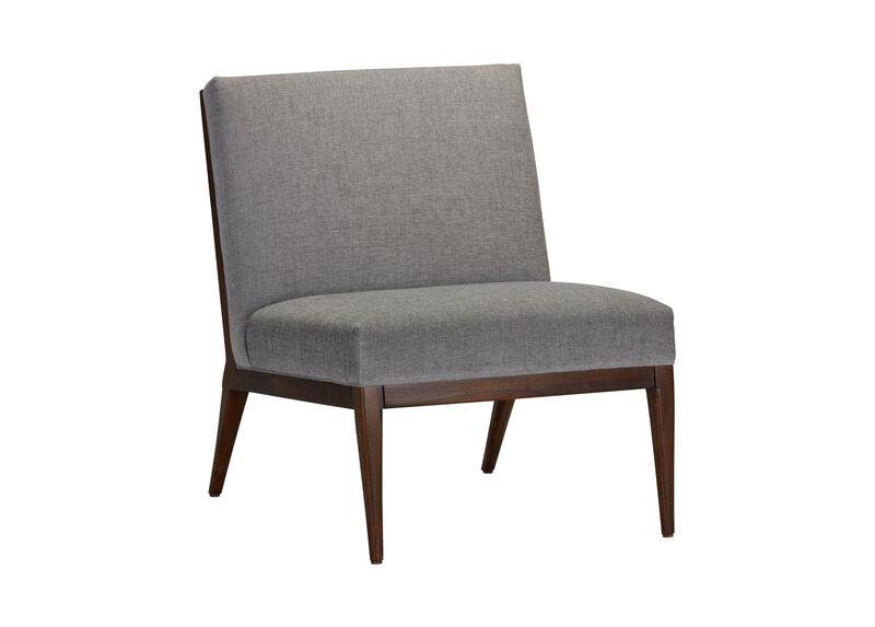 River Armless Slipper Chair