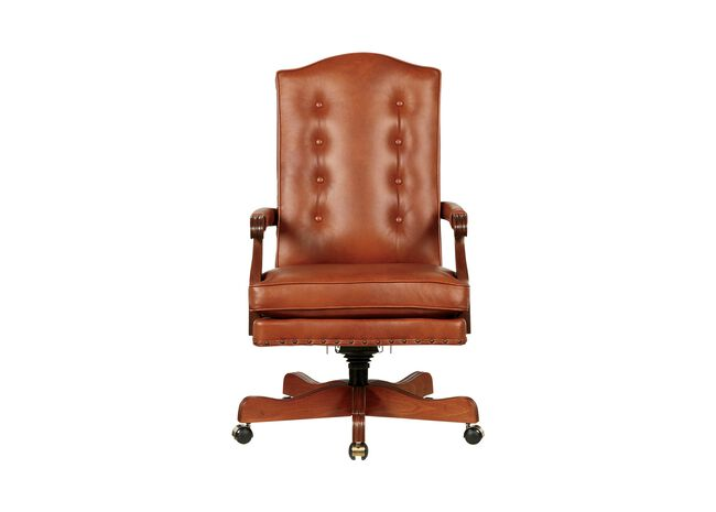 Incredible Harvard Leather Desk Chair Desk Chairs Ethan Allen Pabps2019 Chair Design Images Pabps2019Com