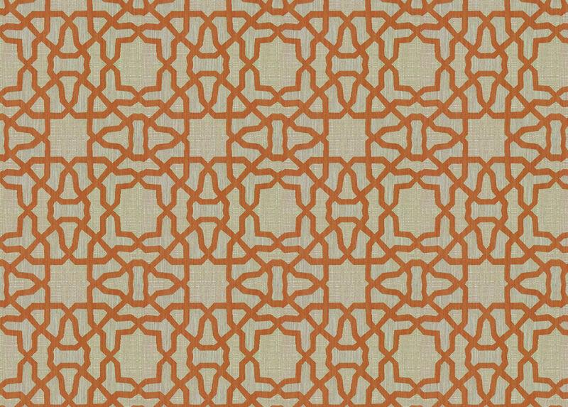 Mazy Copper Fabric