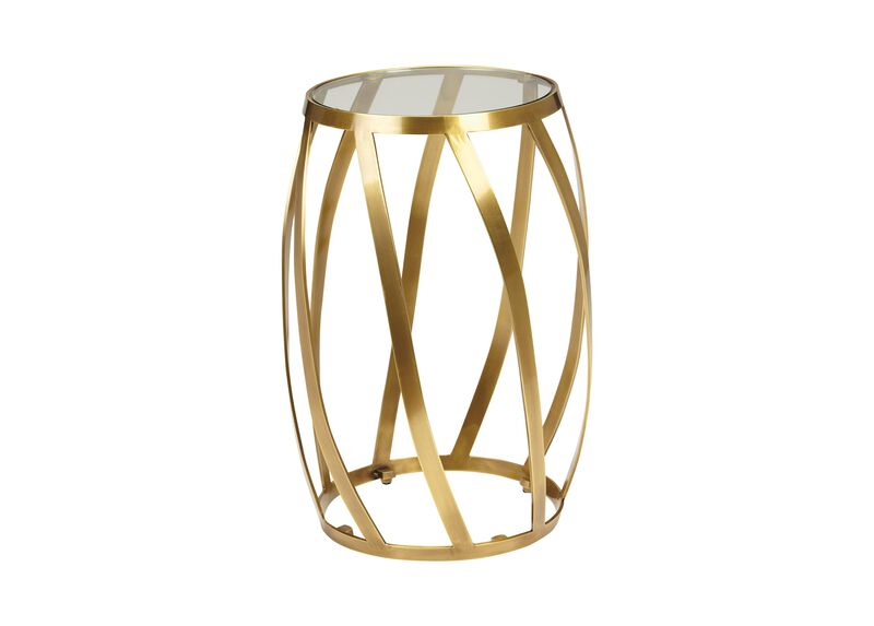 Brass Twist Table ,  , large_gray