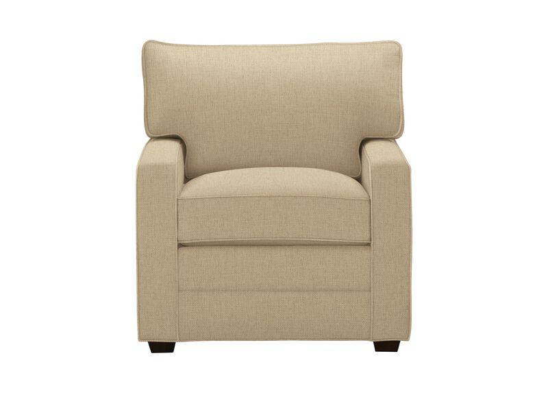 Bennett Track-Arm Chair, Quick Ship