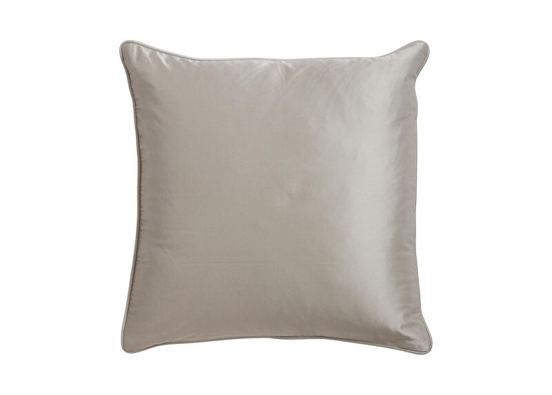 Salena Square Pillow, Taupe