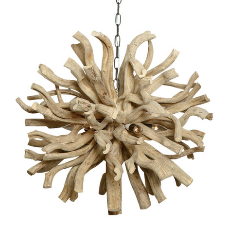 Large Minetto Wood Chandelier Product Tile Image 090535