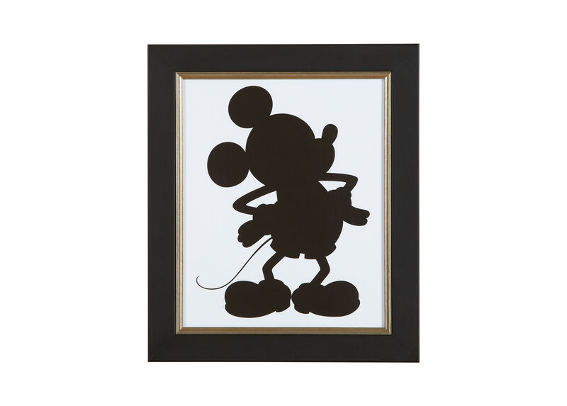 Mickey Mouse Silhouette II ,  , large_gray