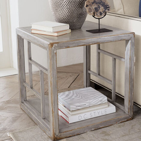 Dynasty Fretwork Side Table Product Tile Hover Image 138004