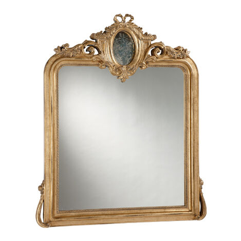 Aged Gold Provincial Mirror ,  , large