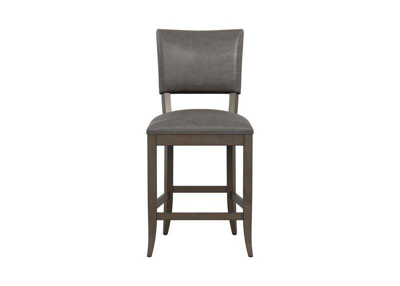 Drew Leather Counter Stool