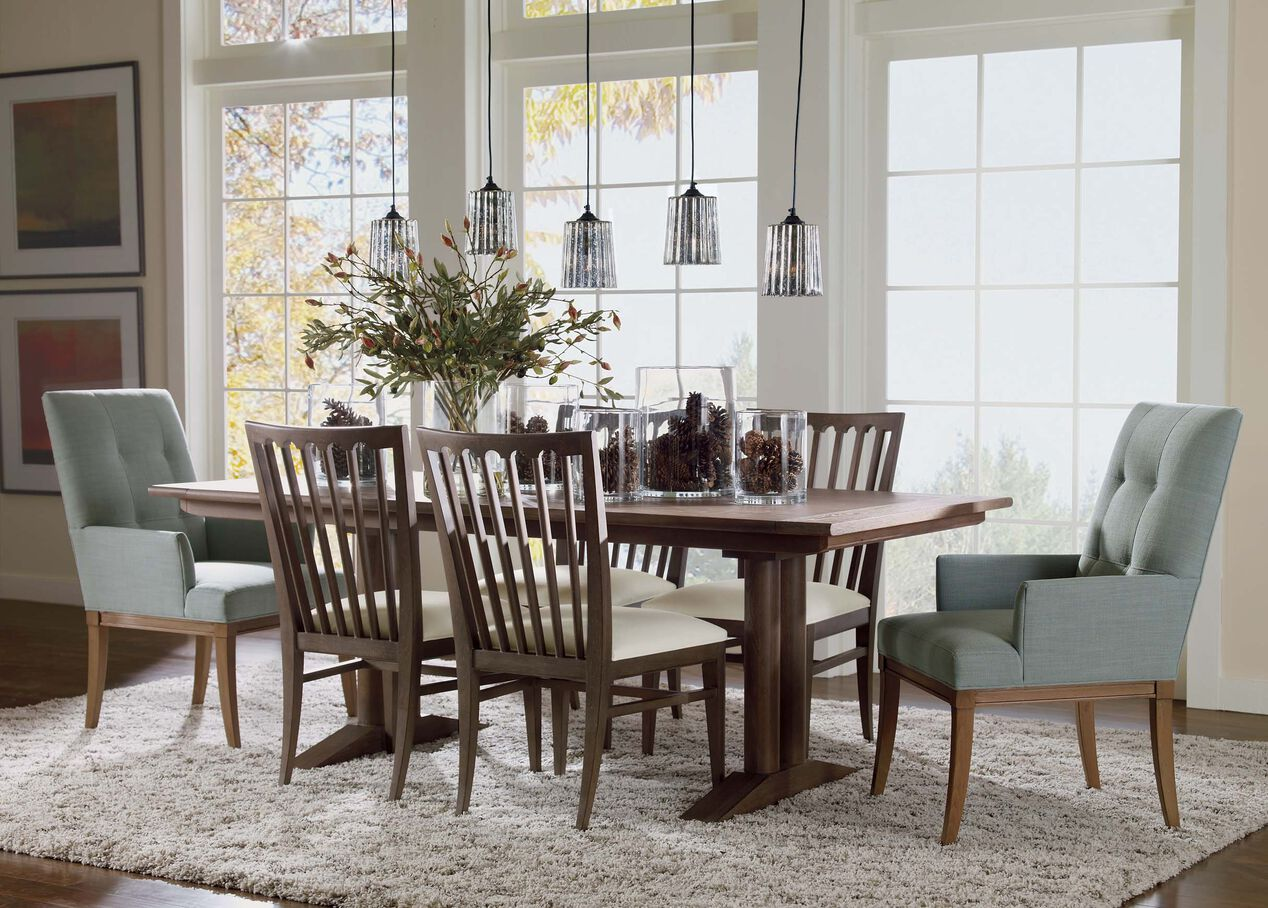 Sayer Extension Dining Table | Dining Tables | Ethan Allen