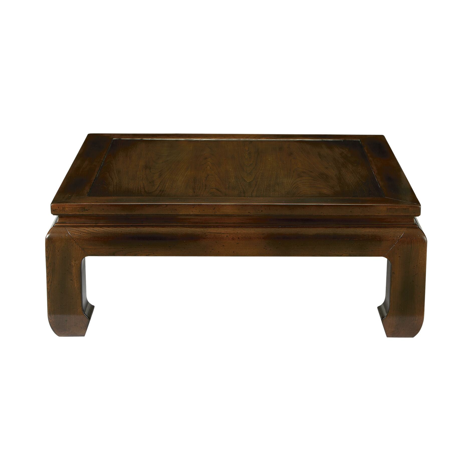 dynasty square coffee table large