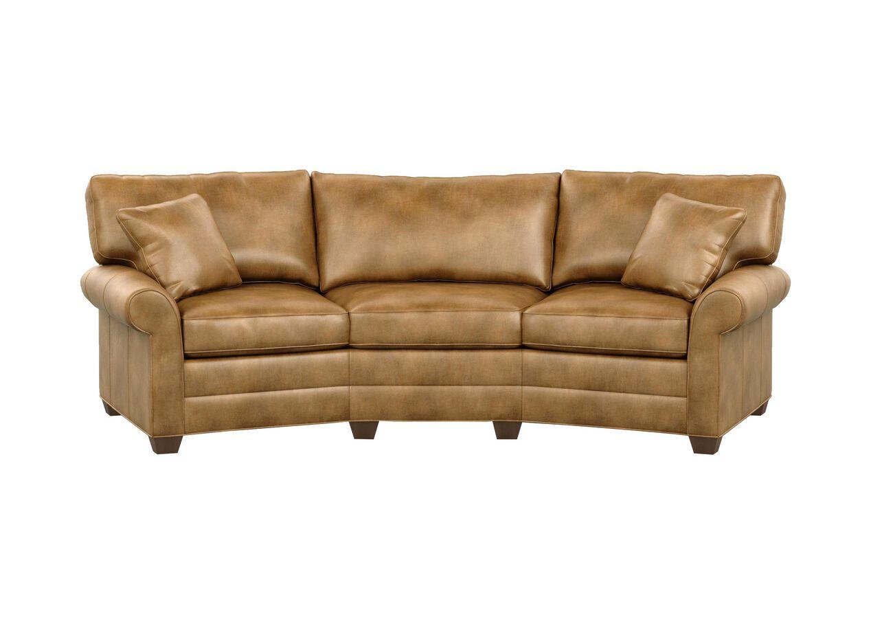 Bennett Conversation Leather Sofa Selected 1